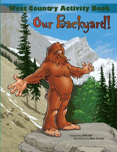 Sasquatch Acitivty Book